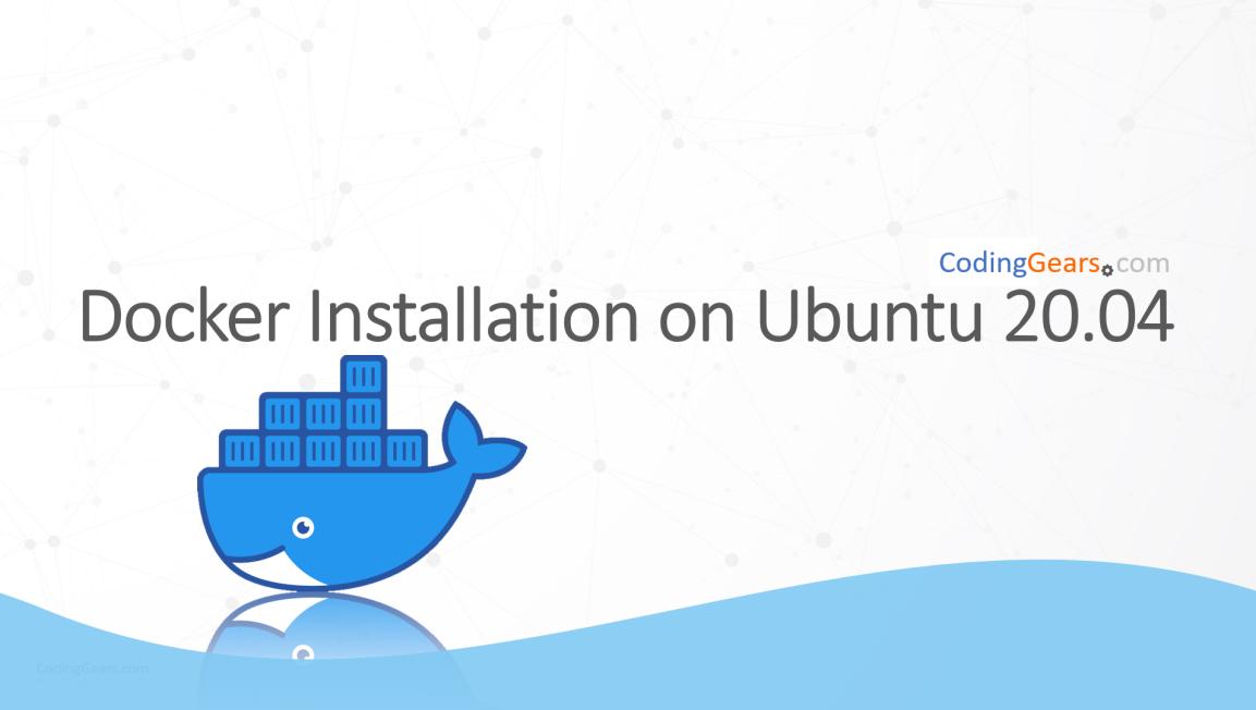 "Install ""docker"" on ubuntu20.04"